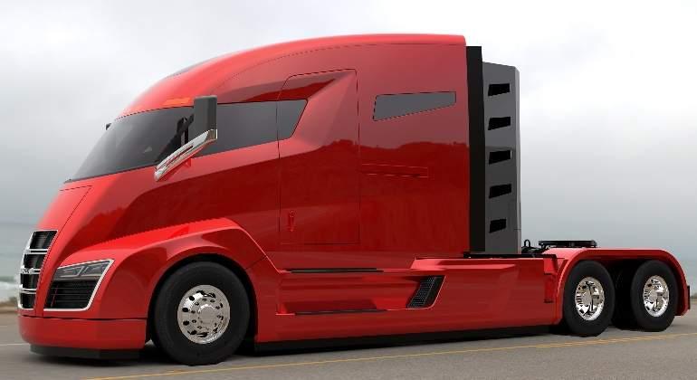 nikola camion electrico talleres diaz